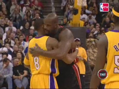 2006 01 16 Lakers VS Heat Recap (Kobe at Shaq)