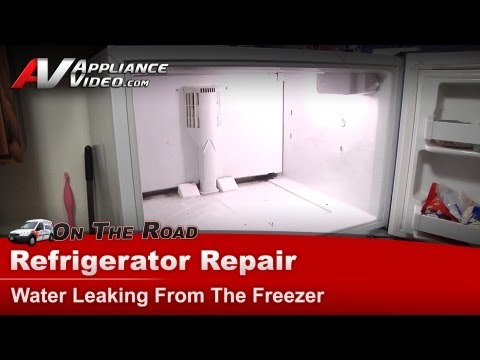 Refrigerator Diagnostic & Repair-Water leaking.Kenmore.Sears.Whirlpool.KitchenAid.Roper.10677292790