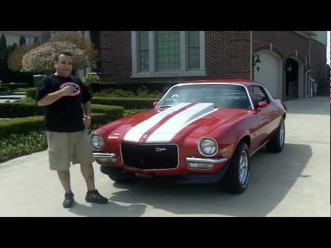 1970 Chevy Camaro Z/28 Clone Classic Muscle Car for Sale in MI Vanguard Motor Sales