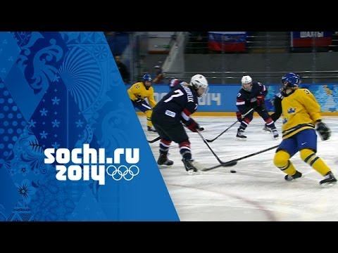 Ice Hockey - Women's Semi-Final - USA v Sweden   Sochi 2014 Winter Olympics
