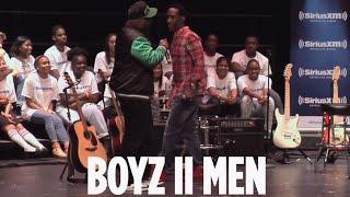 """Boyz II Men Video - Boyz II Men """"Losing Sleep"""" // SiriusXM // Heart & Soul"""