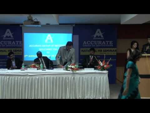 National HR-Seminar at Accurate Institute of Technology, top pgdm colleges in greater noida