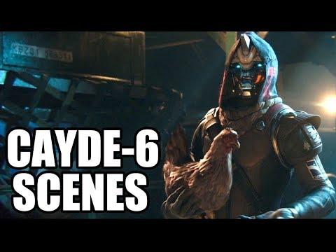 DESTINY 2 - Best Cayde-6 Scenes - Funny Moments