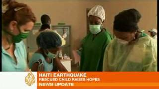 Boy Found Alive Under Haiti Ruin