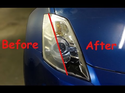 DIY: How to Restore Headlights (Sanding and Spraying)