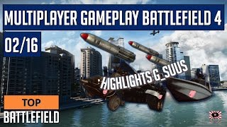 Top Battlefield 4 -- Multiplayer Gameplay G_SuuS  -- 02