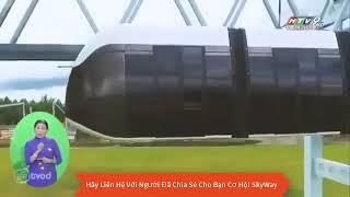 SkyWay:VTV9 Đài Truyền Hình Đưa Tin Công Nghệ Giao Thông Skyway