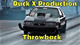 South Georgia Motorsports Park, Duck X Production (Throwback) Small Tire, Radial, Drag Racing Action