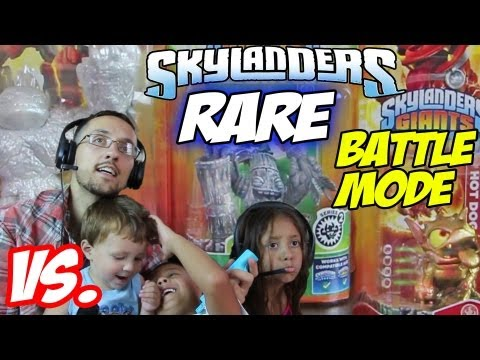 3 Kids Battle Mode w/ E3 Hot Dog. Sparkle Hot Head & Stone Zook (Rare Figures Get Upgraded too)
