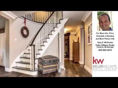 505 Aintree Dr, Stouffville, Ontario Presented by Gary A. McGowan.