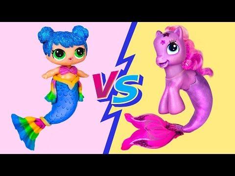 Download ¡Desafío De My Little Pony vs LOL Surprise! 10 Asombrosos Trucos y Manualidades Con Muñecas Mp4 baru