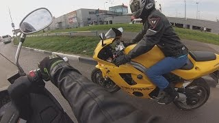 My First Ride on Suzuki Skywave 400, Moscow