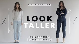 HOW TO LOOK TALLER: Outfit Ideas For Petites Ep. 7