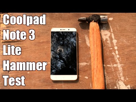 Coolpad Note 3 Lite Hammer Test- How Durable Is This Phone?