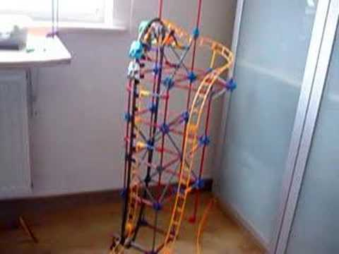 K'nex custom coaster: Corkscrew Runway