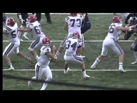 Notre Dame #80 Boedy Borill 28yd TD catch