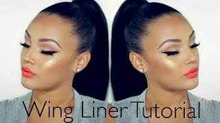 Wing Liner Tutorial | Viva_Glam_Kay
