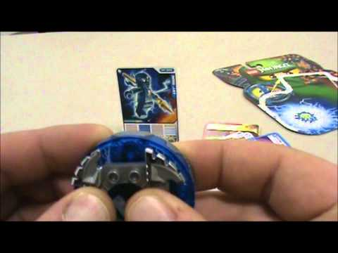 2012 Lego Ninjago 9570 NRG Jay Battle Spinner Review and Unboxing