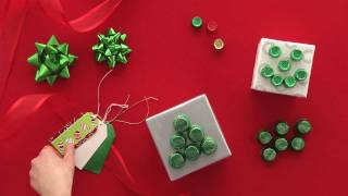 HERSHEY'S- Holiday Wrapping Embellishments