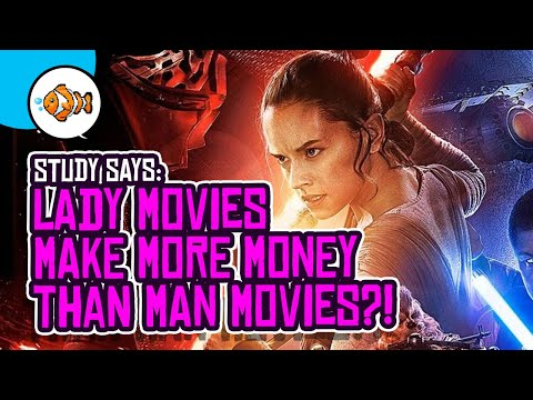 Female-Led Movies Earn More Than Movies Led By Men?!