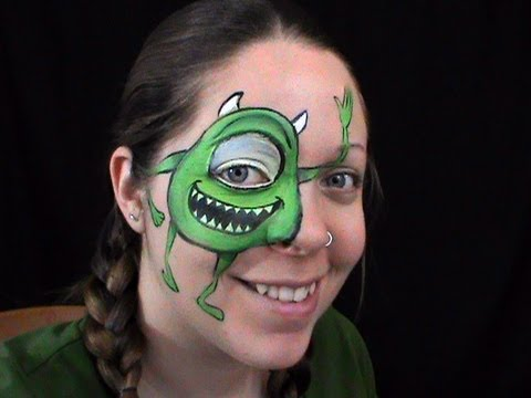 Halloween Monsters Face Paint