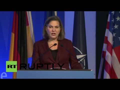 Germany: Victoria Nuland says anti-Russia sanctions 'must remain in place'