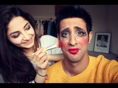 Ischtar schminkt MICH BLIND! - Blindfolded Make Up Challenge
