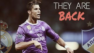 Real madrid vs APOEL ||THEY ARE BACK ||3-0 ||14/9/2017 • HD •