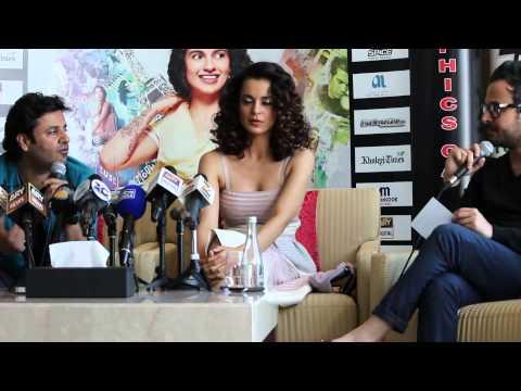 Kangana Ranaut - Queen - Press Conference in Dubai