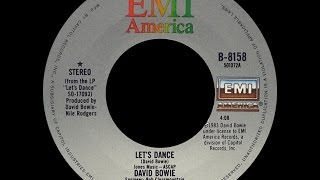David Bowie  Lets Dance Official Video  YouTube