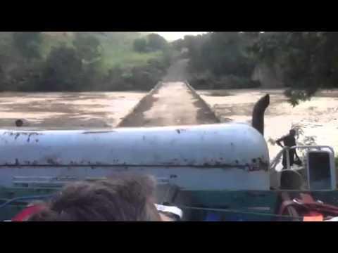 Crossing into Haiti