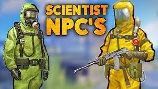 SPOOKY NEW SCIENTIST NPC'S - Rust