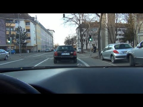 (HD) -Loud- Decatted Audi S-Line & Mercedes E42 AMG