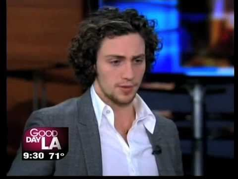 Aaron Johnson Talking About &quot;Nowhere Boy&quot; on L.A. TV Show