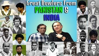 Great Bowlers from Pakistan & India | Caught Behind