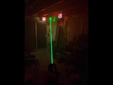 Chinese Green Laser Pointer (YL-Laser 303) Review