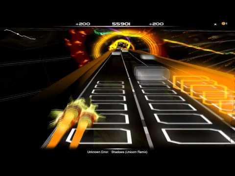 AudioSurf: Unknown Error - Shadows (Unicron Remix)