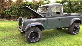 Land Rover Series 3 109 Pickup Truck Cab for sale
