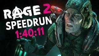 RAGE 2 Speedrun in 1:40:11 [World Record]