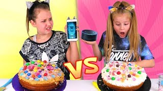 SIRI vs ALEXA CHOOSE MY CAKE INGREDIENTS CHALLENGE!!!