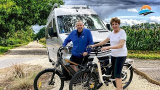 Camping With Electric Bikes! Our New Favorite RV Accessory | RV Lifestyle