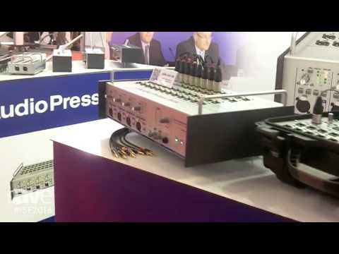ISE 2016: Audio Press Box Talks About its Press Conference Audio Distribution Amplifiers