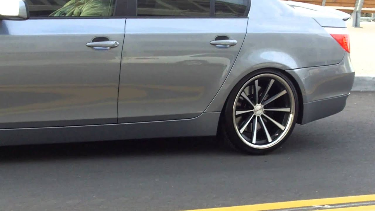Vossen Cv1 On 2007 Bmw 550i Youtube