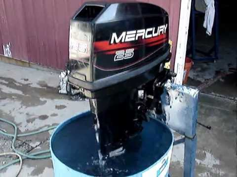 1996 mercury 2 stroke 25hp outboard tiller 20 quot  shaft youtube mercury boat motor service manual mercury quicksilver inflatable boat manual