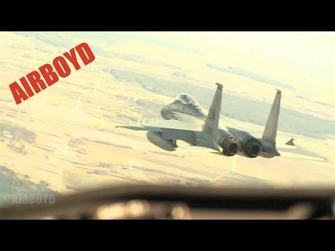 C-27, Gripen & F-15 Over Baltics
