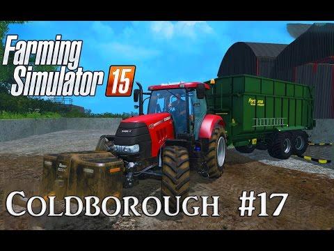 Let's Play Farming Simulator 15: A Very British Farm Episode 17 - Grain Run with Fortuna!