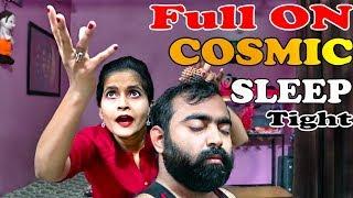 Full On Head Massage by The Cosmic lady barber - ASMR Sleep taste