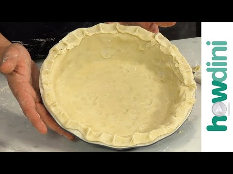 How to make pie crust - Pie crust recipe