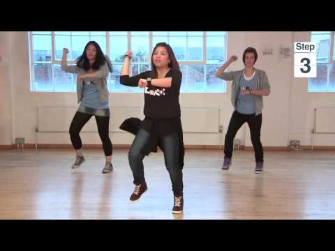 "How To Dance ""GANGNAM STYLE"" (�����) - PSY"