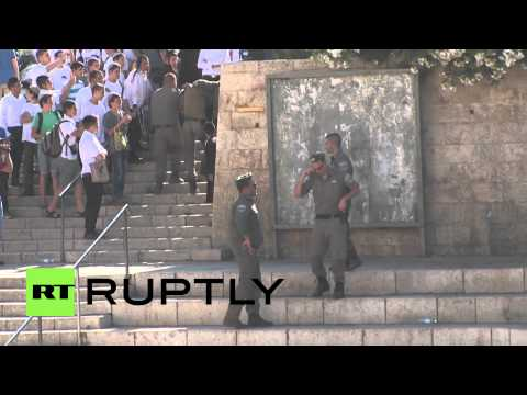 Israel/Palestine: Scuffles break out at Damascus Gate, at least two arrested